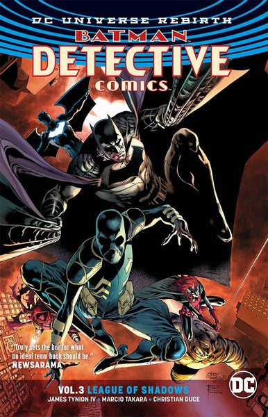 Batman Detective Comics TP Volume 3 (League (Rebirth))