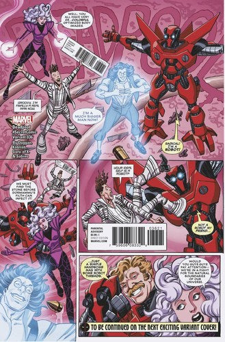 Deadpool (2015) #36 (Koblish Secret Comic Var Se)