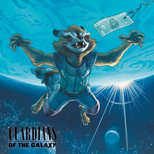 All New Guardians of the Galaxy (2017) #9 (1:5 Rock N Roll Variant)