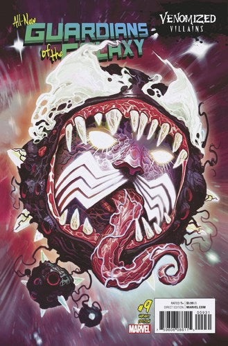 All New Guardians of the Galaxy (2017) #9 (Venomized Ego Variant)