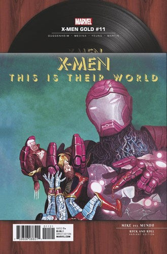 X-Men Gold (2017) #11 (1:5 Del Mundo Rock N Roll Variant)