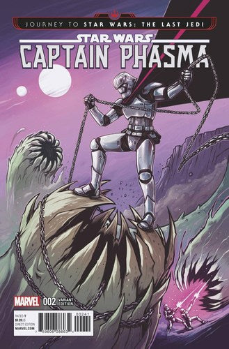 Journey to Star Wars The Last Jedi Captain Phasma (2017) #2 (1:25 Variant)