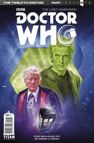 Doctor Who 12th Year Three (2017) #8 (Cover B Photo)