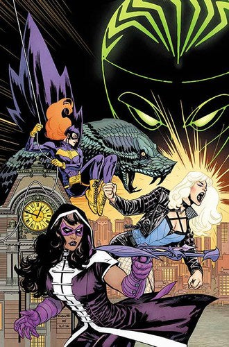 Batgirl and the Birds of Prey (2016) #1