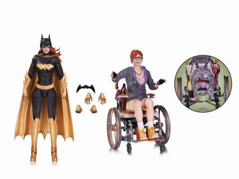 Batman Arkham Knight Batgirl Oracle Action Figure 2-Pack