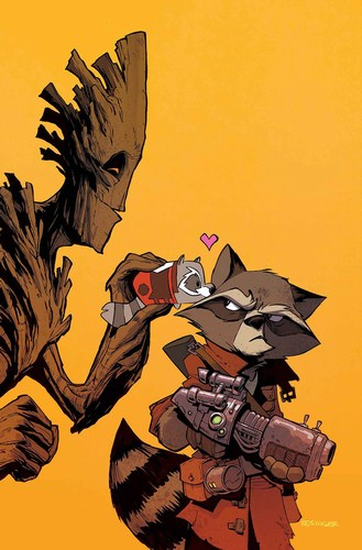Rocket Raccoon and Groot (2016) #8 (Kesinger Tsum Tsum Variant)