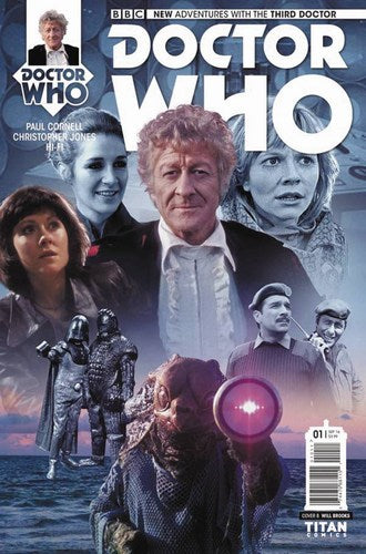 Doctor Who 3rd (2016) #1 (Cover B Photo)