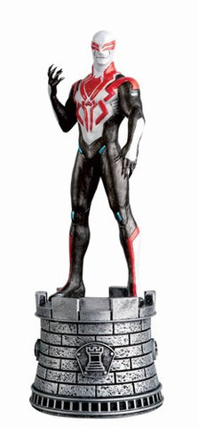 Marvel Chess Figurine Collectors Magazine #87 (Spider-Man 29 White Rook)