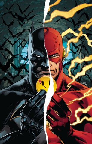 Batman Flash The Button Deluxe Edition HC