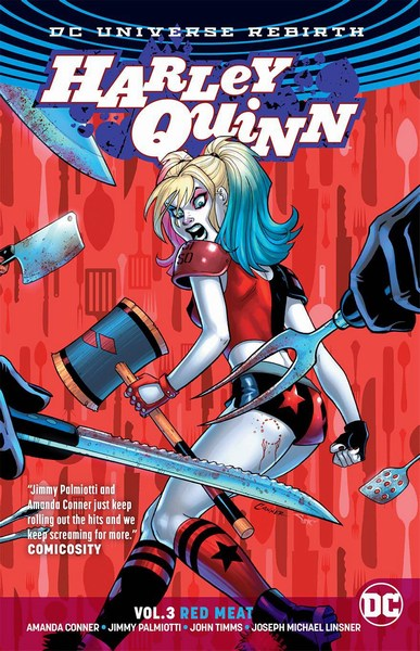 Harley Quinn TP Volume 3 (Red Meat (Rebirth))