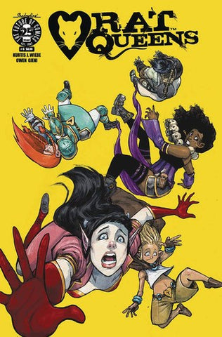 Rat Queens (2017) #5 (Cover A Gieni)