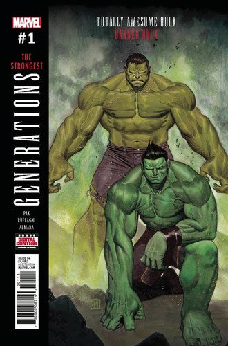 Generations Banner Hulk & Totally Awesome Hulk (2017) #1