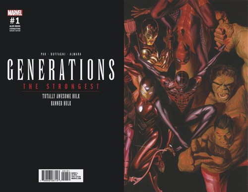 Generations Banner Hulk & Totally Awesome Hulk (2017) #1 (1:50 Ross Connecting Var E)