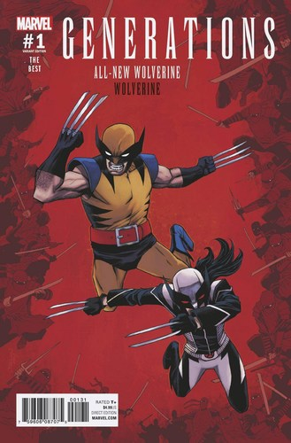 Generations Wolverine & All New Wolverine (2017) #1 (1:25 Shalvey Variant)