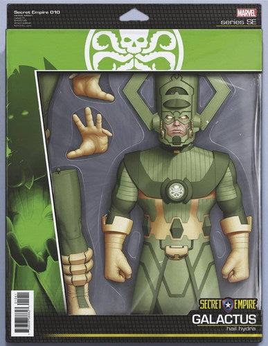 Secret Empire (2017) #10 (Christopher Action Figure Variant)