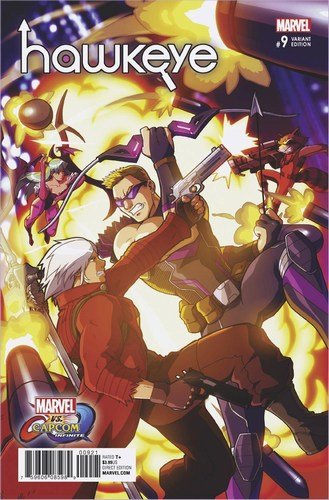 Hawkeye (2016) #9 (Marvel Vs Capcom Variant)