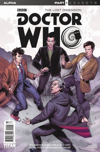 Doctor Who Lost Dimension Alpha (2017) #1 (Cover C Stott)