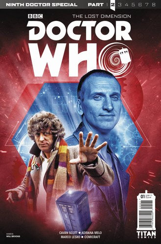 Doctor Who 9th Doctor Year Two (2017) #1 (Cover B Photo)