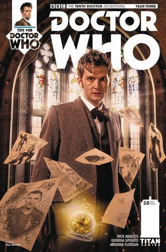 Doctor Who 10th Year Three (2016) #8 (Cover B Brooks)