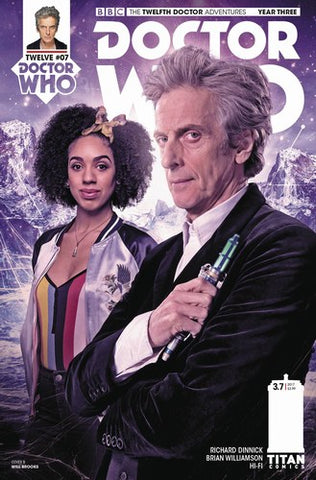 Doctor Who 12th Year Three (2017) #7 (Cover B Brooks)