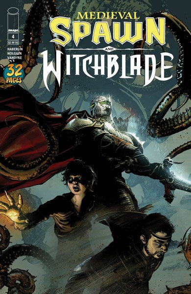 Medieval Spawn Witchblade (2018) #4