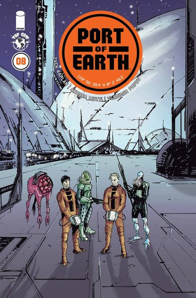 Port of Earth (2017) #8