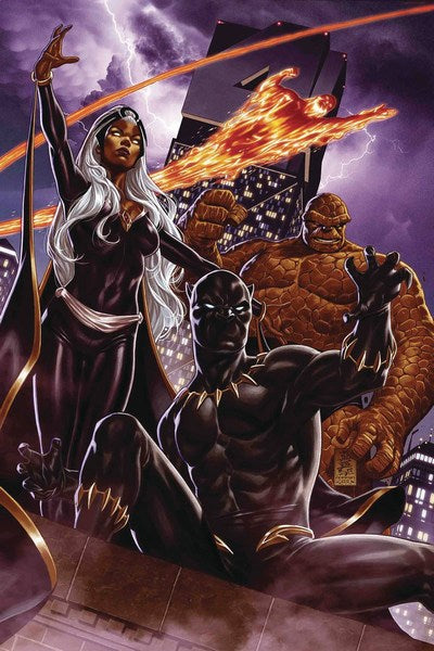 Fantastic Four (2018) #1 (Brooks Return Of Fantastic Four Var)