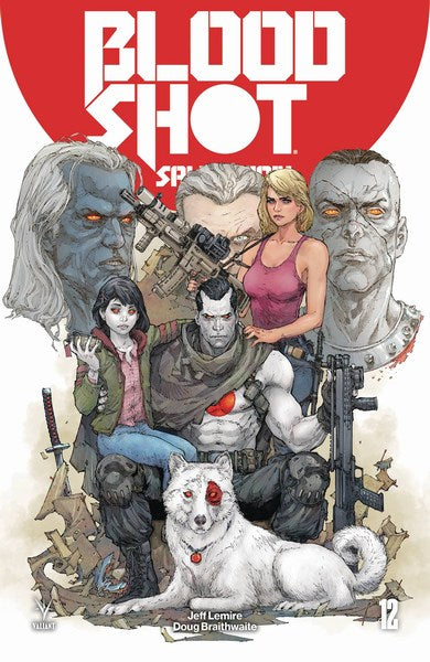 Bloodshot Salvation (2017) #12 (Cover A Rocafort)