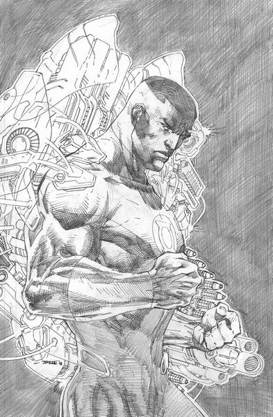Justice League (2018) #6 (1:100 Jim Lee Pencils Variant)