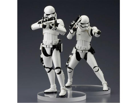 Star Wars Episode 7 First Order Stormtrooper ArtFX+ Statue 2-Pack