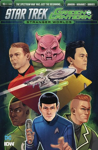 Star Trek Green Lantern Volume 2 (2016) #6 (1:10 Variant)