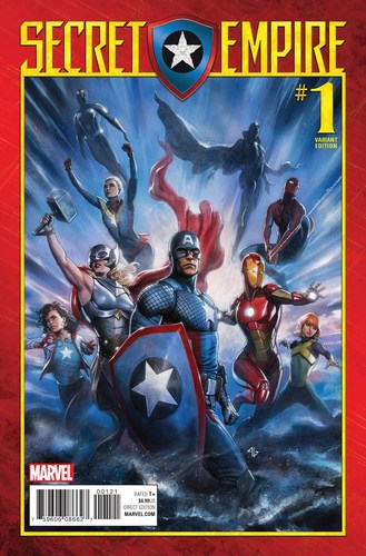 Secret Empire (2017) #1 (1:25 Granov Variant)