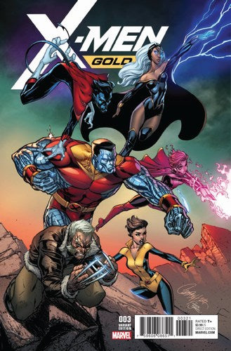 X-Men Gold (2017) #3 (1:25 Campbell Variant)