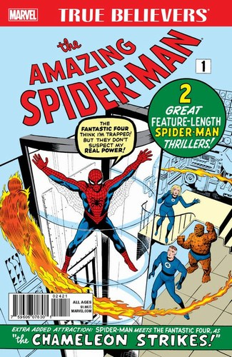 True Believers Amazing Spider-Man #1 (2017)