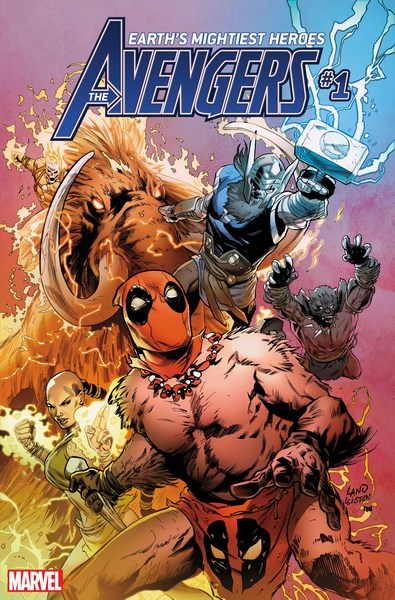 Avengers (2018) #1 (Land Party Variant)