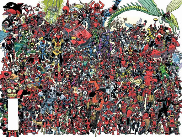 Despicable Deadpool (2017) #300 (Koblish 300 Deadpools Wraparound Variant)