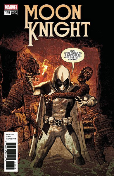 Moon Knight (2017) #195 (Smallwood Deadpool Var Leg)