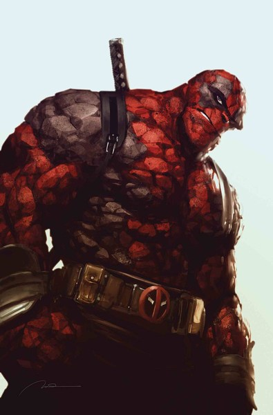 Marvel Two-In-One (2017) #6 (Parel Deadpool Var Leg)