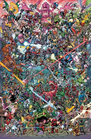 Where's Wolverine by Nauck Poster