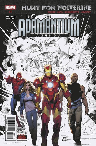 Hunt For Wolverine Adamantium Agenda (2018) #1 (2nd Print Silva Variant)