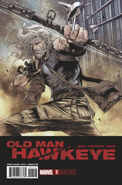 Old Man Hawkeye (2018) #1 (3rd Print Checchetto Variant)