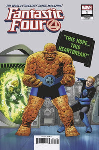 Fantastic Four (2018) #1 (Cassaday Variant)