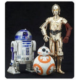 Star Wars Episode 7 C-3PO & R2-D2 With BB-8 ArtFX+ Statue