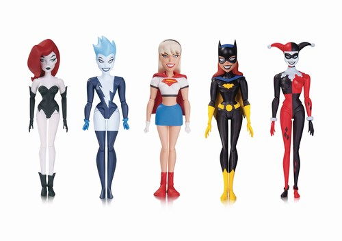 Batman The Animated Series New Batman Adventures Girls Night Out Action Figure 5-Pack