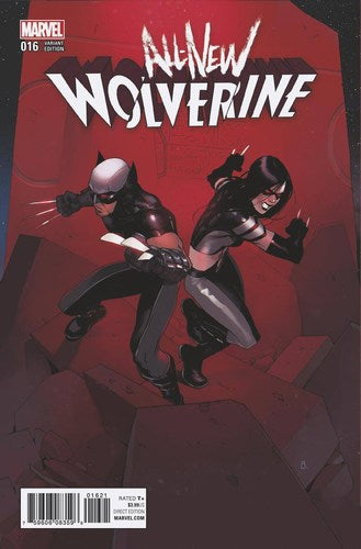 All New Wolverine (2015) #16 (Bengal Connecting D Variant)