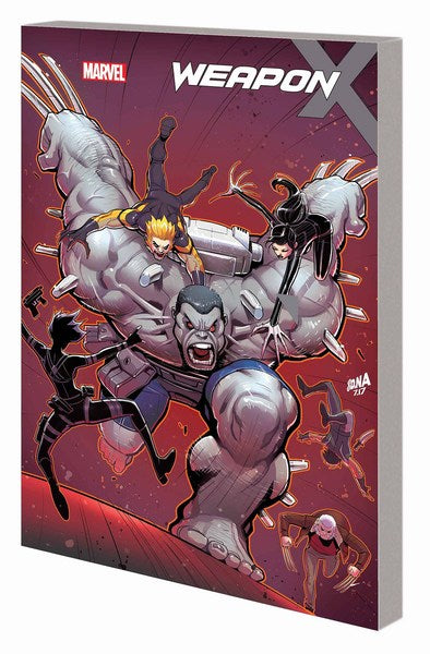 Weapon X TP Volume 2 (Hunt For Weapon H)