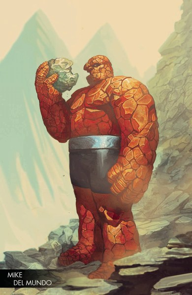 Marvel Two-In-One (2017) #3 (Del Mundo Young Guns Variant)