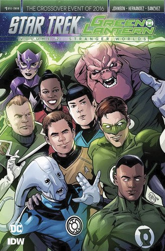 Star Trek Green Lantern Volume 2 (2016) #1 (1:10 Variant)