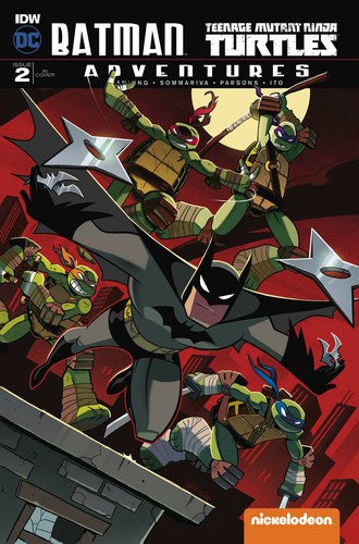 Batman Teenage Mutant Ninja Turtles Adventures (2016) #2 (1:10 Variant)