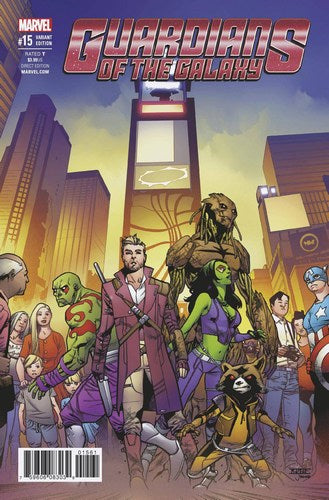Guardians of the Galaxy (2015) #15 (1:25 Asrar Variant)